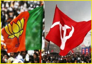 'Be wary of Left Front-China connection', BJP cautions electorate in Bengal & Kerala