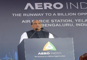 India today offers a unique opportunity in defence and aerospace manufacturing, says Rajnath Singh | TOP POINTS
