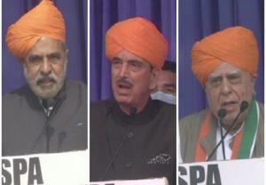 G23 dissenting leaders meet in Jammu, Kapil Sibal says 'Congress getting weak'