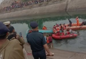 Tragedy in Madhya Pradesh: Bus falls into canal in Sidhi district, 30 bodies recovered; rescue work on