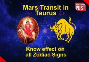 Mars Transit 2021: Mars transits in Taurus, know what will be its effect on all 12 zodiac signs