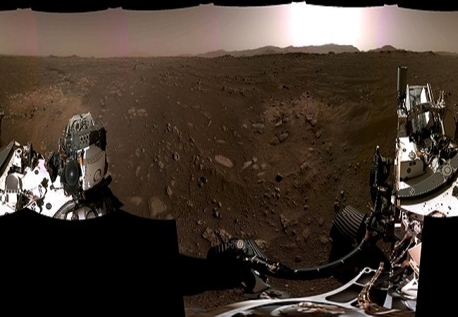 NASA provides the first video and audio from Mars, video from Perseverance rover landing