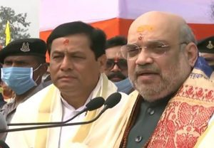 'We have to make Assam flood-free, infiltrator-free and violence-free': Amit Shah in Assam