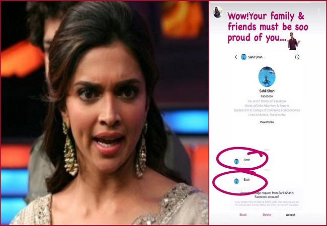 Deepika Padukone calls out troll who abuse her, says 'Your family must be soo proud'