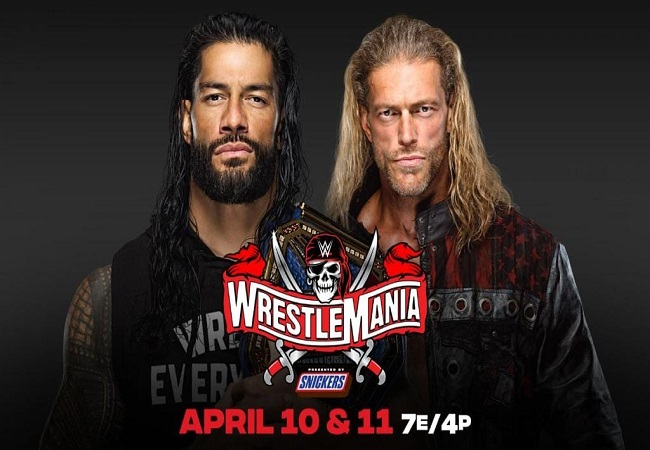 WWE WrestleMania 37: Edge vs Roman Reigns is officially announced