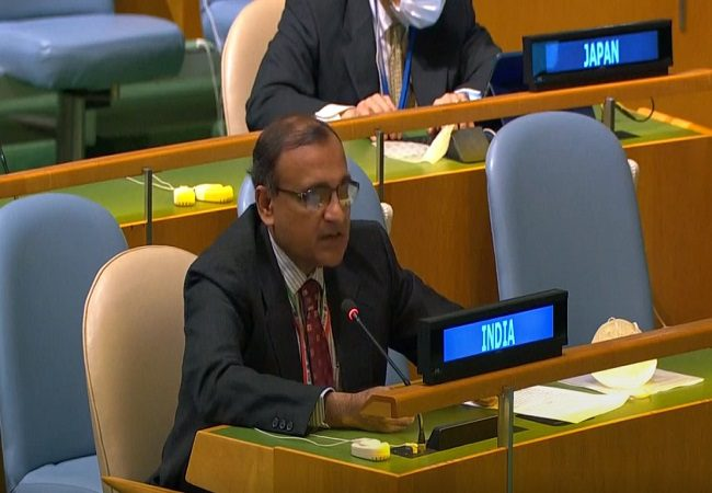 Restoring peace must be priority of stakeholders in Myanmar: India at UNGA