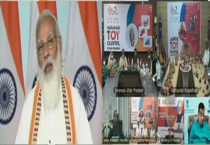 PM Modi pushes 'vocal for local' as he inaugurates India Toy Fair 2021