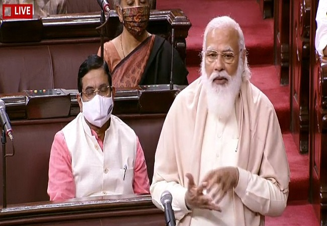 PM Modi's speech in Rajya Sabha during farewell of four members