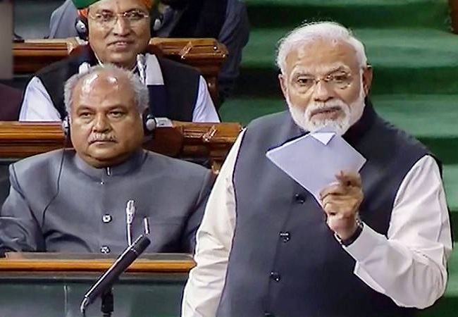 LIVE: PM Modi's reply to the motion of thanks on the President's Address