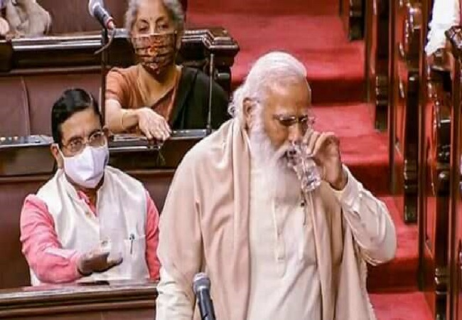 PM Modi bids emotional farewell to Ghulam Nabi Azad in Rajya Sabha (Video)