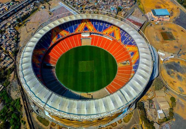 Sardar Patel Motera Stadium: Glimpses of World's biggest cricket stadium; See Pics