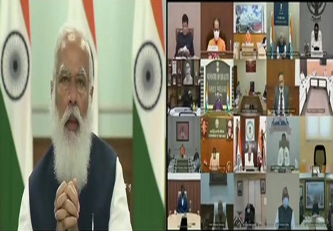 NITI Aayog meet: PM Modi hails budget, says country wants to progress fast