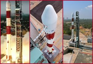 ISRO launches PSLV-C51 carrying 19 satellites   See Pics