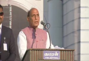 Centre committed to ensuring Tamil refugees in Sri Lanka live with peace, equality: Rajnath