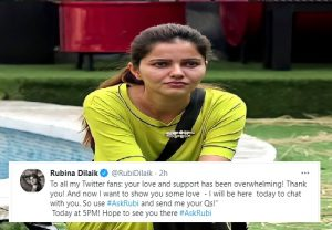 #AskRubi trends: Rubina Dilaik chats with her fans