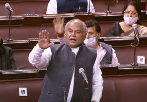 Budget Session 2021: Narendra Singh Tomar says protests over farm laws limited to only one state, farmers being instigated