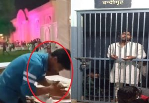 CAUGHT ON CAM: Lucknow man spits on Tandoori Roti while making, netizens erupt in anger (VIDEO)