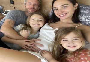 Gal Gadot announces 3rd pregnancy with husband Jaron Varsano; shares adorable family picture