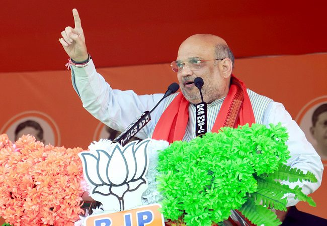 Assembly polls: It's Mamata's 115 scams vs PM Modi's 115 schemes: Amit Shah roars in Bengal