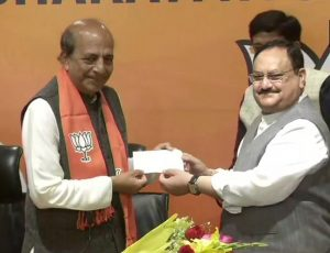 Bengal elections: Former TMC MP Dinesh Trivedi joins BJP in presence of JP Nadda