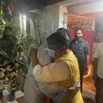 BJP's Kailash Vijayvargiya meets actor Mithun Chakraborty