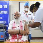 PM Modi,coronavirus vaccine,India Covid vaccination drive,PM Modi first vaccine dose,PM Modi vaccine news,PM Modi Covaxin,COVID-19 Vaccination,COVID-19 Vaccination Drive,India COVID-19 Vaccination