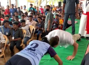 Rahul Gandhi takes up push-up challenge, wows students with one-hand push-up (VIDEO)