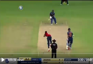 Pant reverse-flicks again, this time Archer for six (VIDEO)