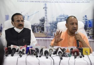 Fertilizer factory in Gorakhpur to begin by July, says Union Minister; CM Yogi thanks him for Rs 8,000 cr investment