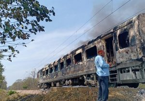Fire breaks out in Shatabdi Express in Uttarakhand, no casualties reported