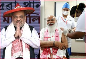 After PM Modi, Home Minister Amit Shah takes first dose of Covid-19 vaccine