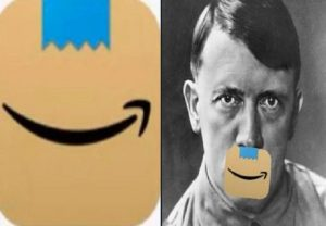 Amazon changes app icon after netizens compare it to Hitler's moustache