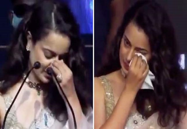 Thalaivi trailer launch: Kangana gets emotional while talking about director & movie