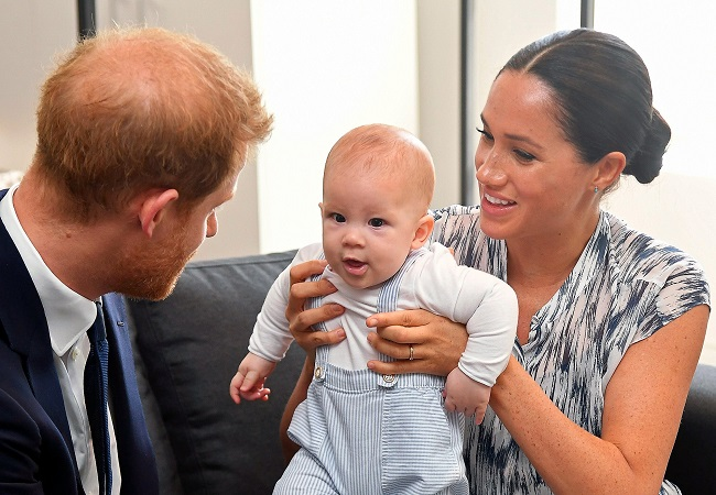 "Meghan Markle says there were ""concerns and conversations"" with Royal family about Archie's skin colour"