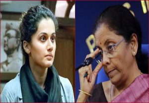 Taapsee Pannu takes a jibe at FM Sitharaman in her first tweet post I-T raid; read here