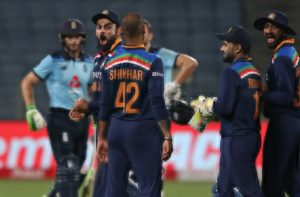 India v England 3rd ODI: India defeat England by seven runs in third and final ODI to clinch series 2-1