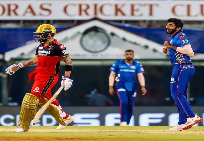 Watch: MI vs RCB, IPL 2021 Highlights