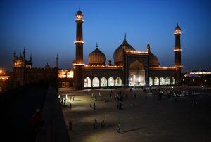 Ramadan Mubarak: An illuminated view of Jama Masjid on the eve of Ramadan festival; See Pics
