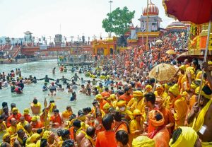 2,167 positive COVID-19 cases in Haridwar in last five days; Kumbh Mela to continue
