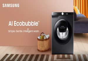 Samsung launches India's first Artificial Intelligence enabled washing machine