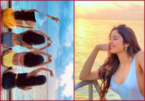 Janhvi Kapoor with her girl squad, spending vacation in Maldives…. see PICs