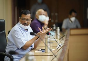 LIVE: Delhi CM Arvind Kejriwal says 'One lakh people being given COVID-19 vaccine daily'