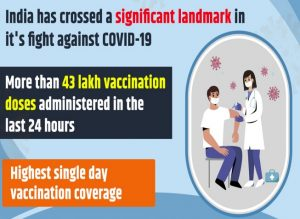 43 lakh in 24 hrs: Highest Covid-19 vaccine jab on April 5, total 8 crore doses administered; FULL details