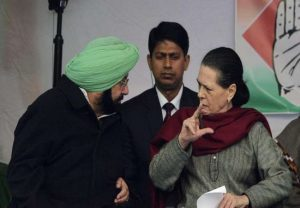 Only 5 days of vaccine stock left, Punjab CM tells Sonia at Covid review meet