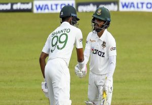 SL vs Ban, 1st Test: Najmul and Mominul take visitors to 474/4 | Match report