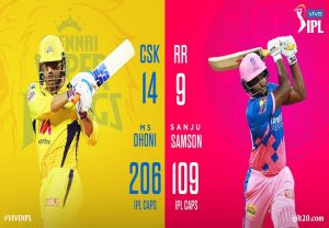 Watch Chennai Super Kings vs Rajasthan Royals Live