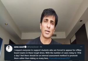 #cancelboardexam2021 trends on Twitter, Sonu Sood supports