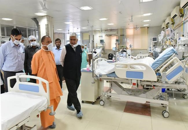 Doubling Covid beds, oxygen plants & medicines availability: CM Yogi's elaborate plan to fight pandemic