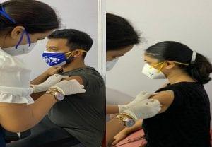 Ajinkya Rahane, wife Radhika receive first dose of COVID-19 vaccine
