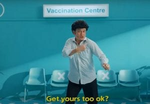 Got bored listening to vaccine alert in Big B's voice; Check out some other interesting vaccine campaign